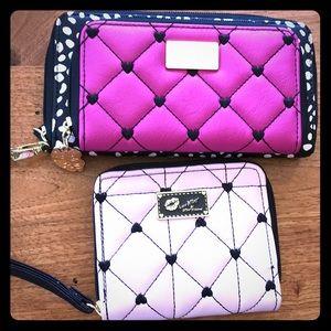 Betsy Johnson Wristlet ( NWOT) & wallet (2 items)